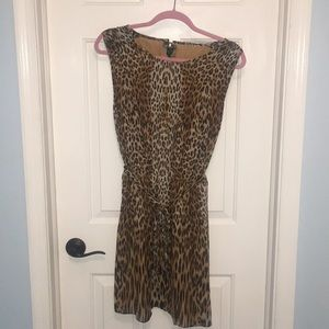 C. Wonder Leopard Dress
